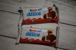 Kinder Delice - каждый бисквит в индивидуальной упаковке