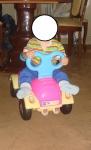 это мой 6-месячный сынок. куда там трехлетке?