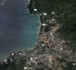 Пляж Камала на картах гугл