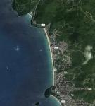 Пляж Карон на картах гугл