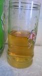 Сок в стакане.