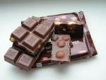 Шоколад в разломе
