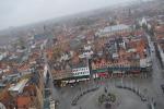 Вид на Брюгге с высоты башни Белфорд.