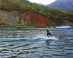парк для катания на вейкборде и водных лыжах