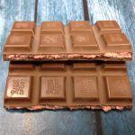 шоколадка на изломе