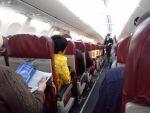 Внутри самолета компании UtAir