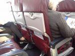 Расстояние между креслами в самолетах компании UtAir