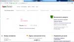 Яндекс паспорт почты