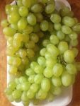 После тщательной обработки виноград готов к употреблению