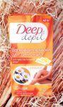 Восковые полоски Deep depil Floresan с ромашкой, для чувствительной кожи. Отзыв