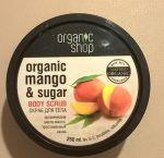 """Скраб для тела """"Кенийский манго"""", Органик Шоп."""