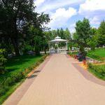 Беседка в Струковском парке в Самаре