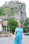 Я на фоне замка Девин.