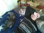 Спит с мужем