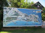 Карта мыса и старого города Сиде