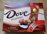 Конфеты Dove Promises Молочный шоколад Ассорти