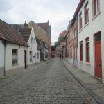 Брюгге.Улочка старого города.