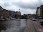 Канал в центре Амстердама