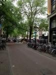 Улочка в центре Амстердама