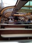 Внутри речного трамвайчика (Амстердам)
