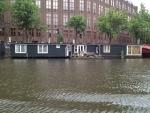 Плавучие дома в Амстердаме