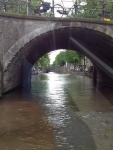 Арка моста в Амстердаме