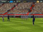 Футбольный симулятор FIFA 2013 для iPad - штрафной удар
