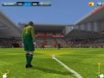 Футбольный симулятор FIFA 2013 для iPad - удар от ворот