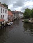 Каналы в центре Брюгге