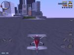 Игра Grand Theft Auto 3 для iPad - пытаемся долететь до суши на самолете