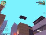 Игра Grand Theft Auto 3 для iPad - полет на машине в замедленном действии