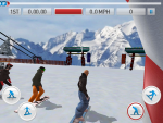 Игра Fresh Tracks Snowboarding для iPad - на старте