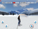 Игра Fresh Tracks Snowboarding для iPad - заезжаем на трамплин