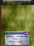Футбольная игра Score! Classic Goals для iPad - показана траектория комбинации