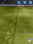 Игра Score! Classic Goals - траектория по которой нужно передавать пас