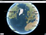 Приложение Карты для iPad - режим спутника