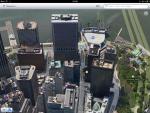 Приложение Карты для iPad - Нью Йорк в 3D режиме