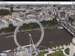 Приложение Карты для iPad - Лондон в 3D режиме