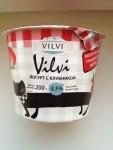 Йогурт Vilvi с клубникой