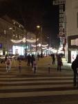 Улица Марияхильферштрассе вечером