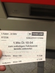 Билеты на метро в Вене (одноразовые)