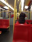 В вагоне метро (Вена)