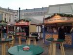 Кафешки в парке Пратер (Вена)