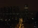 Вид из окна отеля в Гонконгке