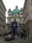 Небольшая церковь в центре Вены