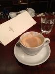 Кофе Меланж в кофейне Демель (Вена, Австрия)