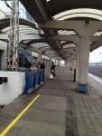 Перрон на вокзале Братислава-Петржалка (Словакия)