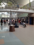 Внутри вокзала Братислава-Петржалка (Словакия)