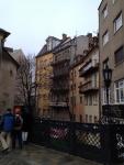 Домики в центре Братиславы