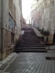Подъем к замку Братиславский Град